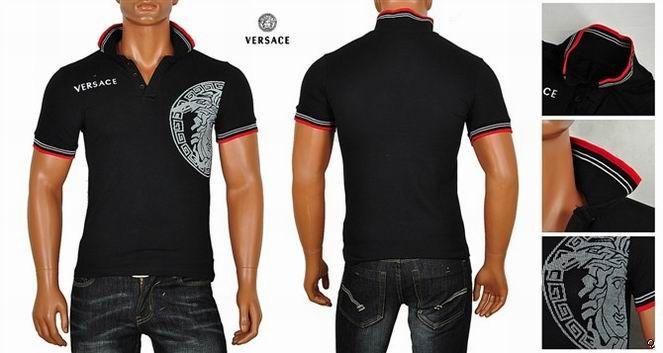 משהו רציני Class-deal | קלאס דיל | חולצות ורסצ'ה שרוול קצר פולו לגבר ב145 KG-47
